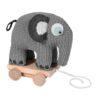 Crotchet pull-along elephant
