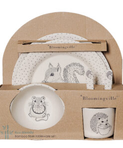 Bloomingville Alex Serving set in bambu