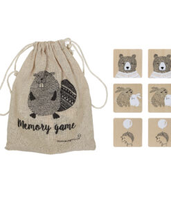 Bloomingville Memory Game in bag