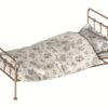 Gold Vintage Bed in metal from Maileg