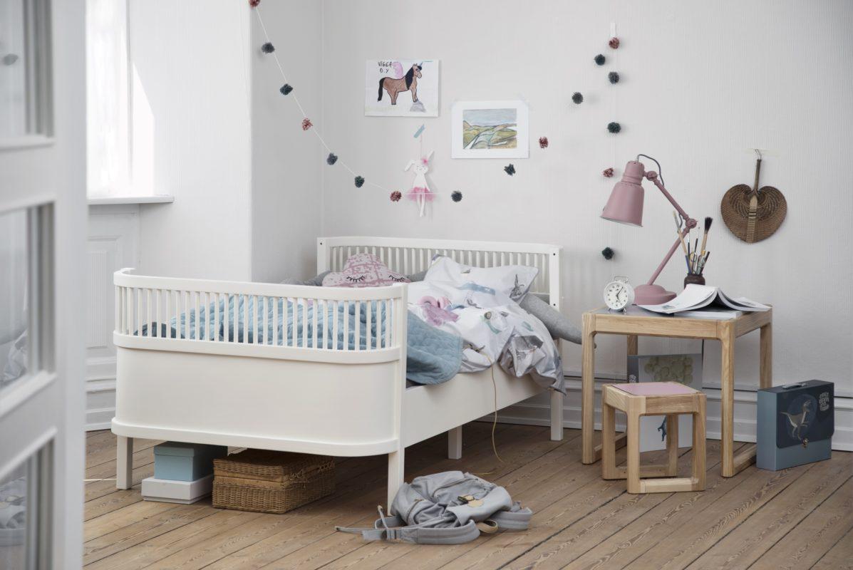 Een blauwe babykamer kidzlab