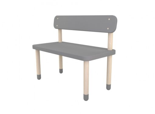 Flexa Children's Bench - Grey
