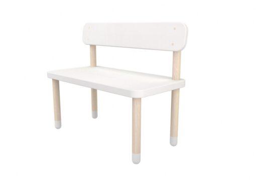 Flexa Children's Bench White