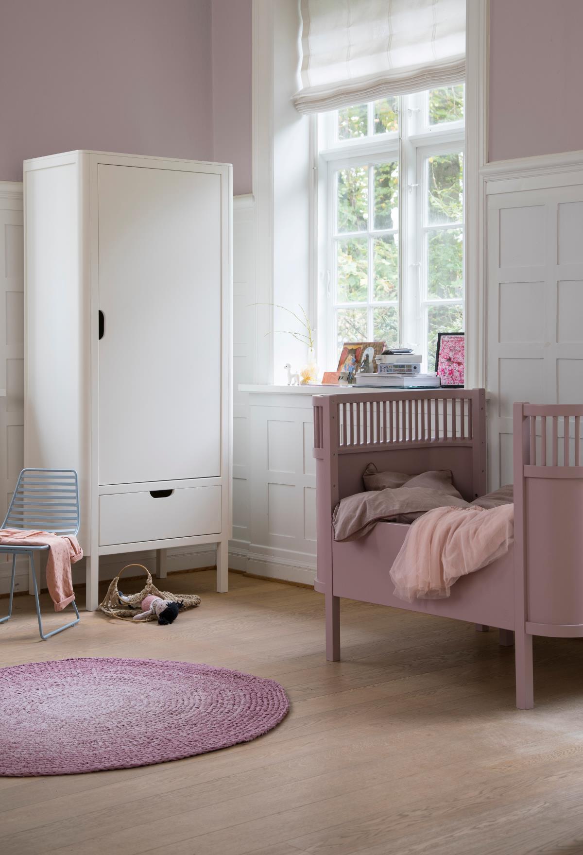 The Sebra bed, baby & jr., Vintage Rose - DesignNut.ee