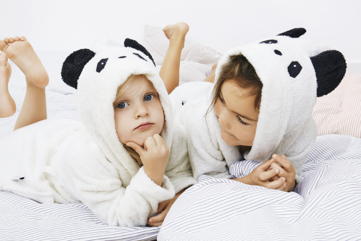 Liewood Panda Bathrobe