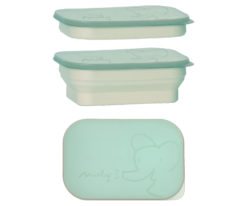 Maileg foldable lunch box turquoise