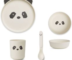 Liewood Bamboo Panda Box Set