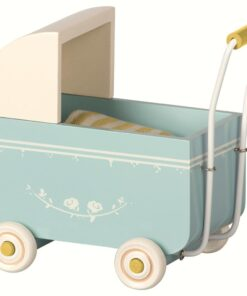 Maileg Pram Blue MY